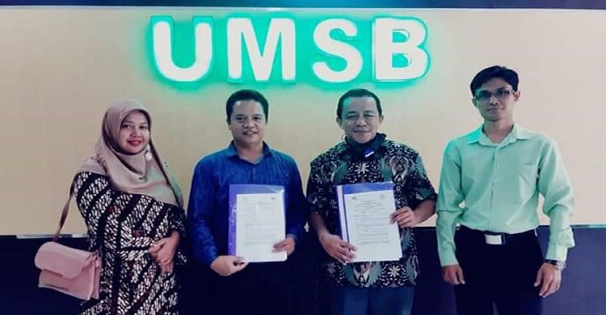 Program Pascasarjana Universitas Muhammadiyah Sumatera Barat (UMSB) mengadakan perjanjian kerjasama Tri Dharma Perguruan Tinggi dengan AGPAII